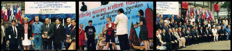 5TH EDITION OF WORLD CHAMPIONSHIP, 2001 BANGKOK-THAILAND, HAD BROUGHT TOGETHER 41 NATIONAL TEAMS